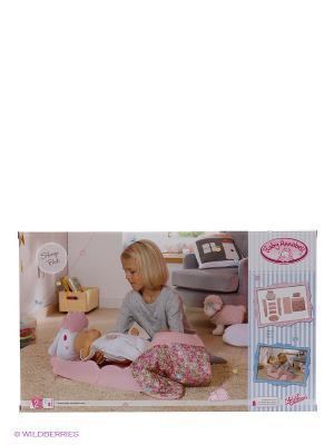 Игрушка Baby Annabell Кроватка Овечка с аксессуарами, кор. ZAPF. Цвет: розовый