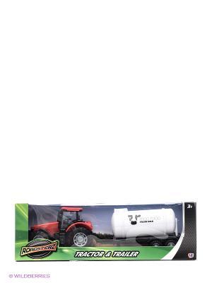 Трактор с бочкой Красный HTI. Цвет: красный