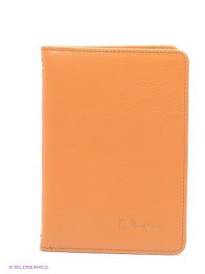 Обложка для водительского удостоверения D'Angeny. Цвет: оранжевый
