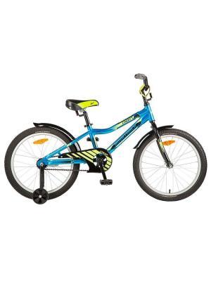 Велосипед 20 CRON алюм.рама NOVATRACK. Цвет: синий