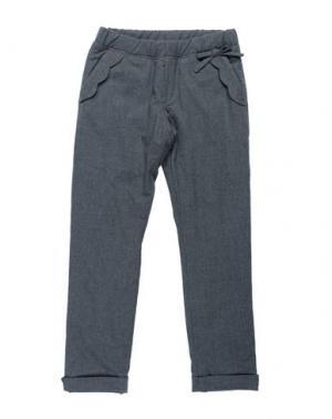 Повседневные брюки ALETTA. Цвет: свинцово-серый