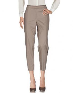 Повседневные брюки GUNEX. Цвет: бежевый