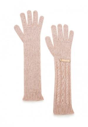 Перчатки Noryalli. Цвет: розовый