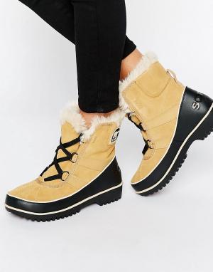 Sorel Ботинки на шнуровке Tivoli II. Цвет: мульти
