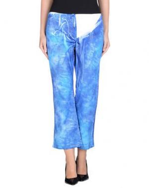 Повседневные брюки ROBERTA SCARPA. Цвет: лазурный