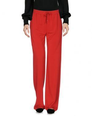 Повседневные брюки PF PAOLA FRANI. Цвет: красный