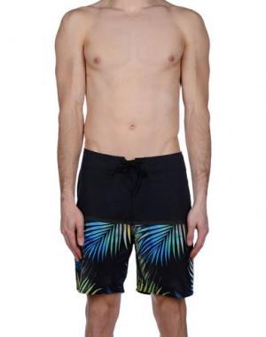 Пляжные брюки и шорты RIPCURL. Цвет: стальной серый
