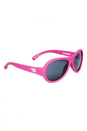 Солнцезащитные очки для девочек Babiators. Цвет: розовый