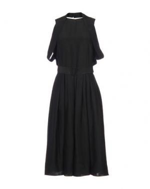 Платье длиной 3/4 MARTIN GRANT. Цвет: черный