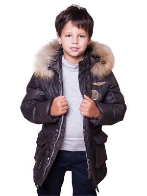 Куртка De Coussart. Цвет: темно-коричневый