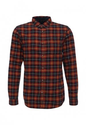 Рубашка Jack & Jones. Цвет: коричневый