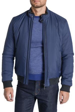 Куртка CUDGI. Цвет: синий