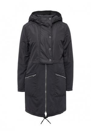Куртка утепленная Vila. Цвет: серый