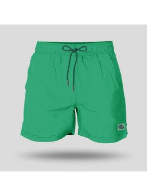 Шорты Пляжные JOHN FRANK. Цвет: зеленый