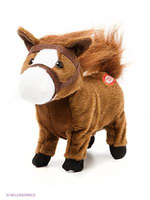 Мягкая игрушка Скакун Джо Fluffy Family. Цвет: коричневый