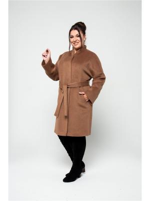 Пальто KR. Цвет: светло-коричневый
