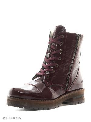 Ботинки DOCKERS.. Цвет: бордовый