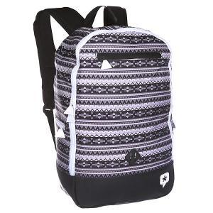 Рюкзак городской  Scalp Black TrueSpin. Цвет: черный,белый