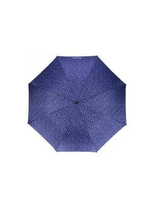 Зонты Isotoner. Цвет: черный, белый, синий