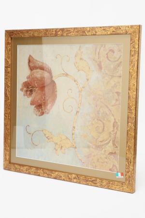 ПостерЦветок70х70 см F.A.L. Цвет: мультицвет