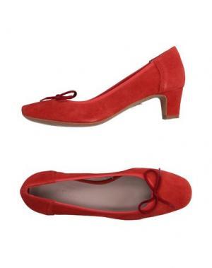 Туфли ANCARANI. Цвет: красный