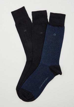 Комплект носков 3 пары Calvin Klein Underwear. Цвет: синий