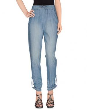 Джинсовые брюки CREAM. Цвет: синий