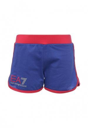Шорты EA7. Цвет: синий