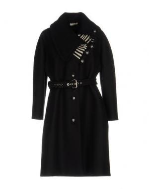 Пальто BOUCHRA JARRAR. Цвет: черный