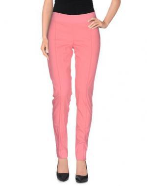 Повседневные брюки PIANURASTUDIO. Цвет: светло-фиолетовый