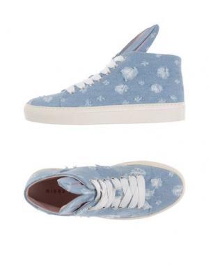 Высокие кеды и кроссовки MINNA PARIKKA. Цвет: синий