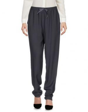 Повседневные брюки ...À_LA_FOIS.... Цвет: свинцово-серый