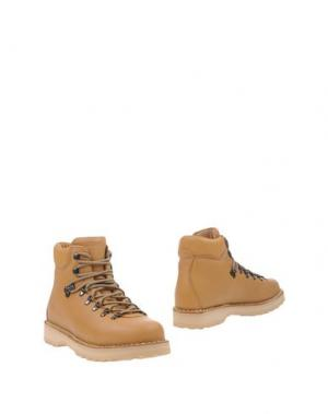 Полусапоги и высокие ботинки DIEMME. Цвет: песочный