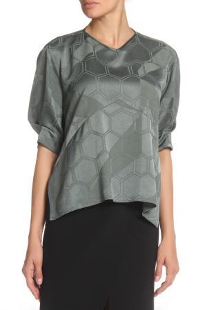 Блуза ISABEL MARANT. Цвет: оливковый