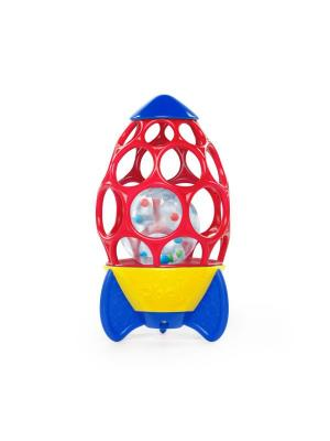 Ракета с погремушкой Oball. Цвет: красный