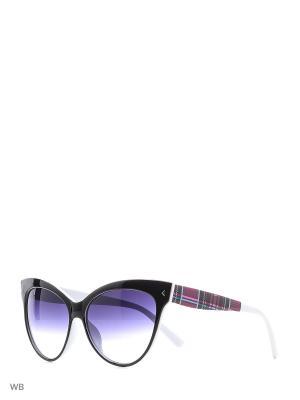 Очки солнцезащитные Vittorio Richi. Цвет: черный, белый
