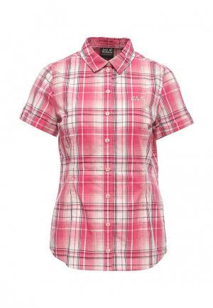 Рубашка Jack Wolfskin. Цвет: розовый