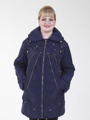 Куртка Бланш VIKO. Цвет: синий