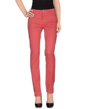 Повседневные брюки D-21. Цвет: коралловый