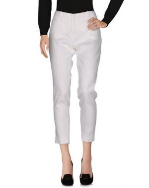 Повседневные брюки GRAN SASSO. Цвет: белый