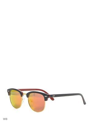 Солнцезащитные очки Vittorio Richi. Цвет: оранжевый, красный