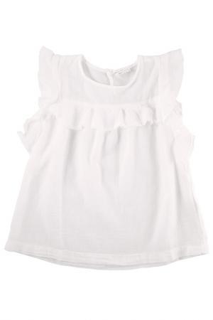 Блуза MORLEY. Цвет: белый