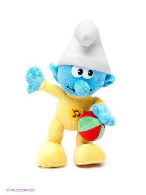 Мягкая Игрушка Смурф  Мульти-пульти. Цвет: белый, желтый, голубой