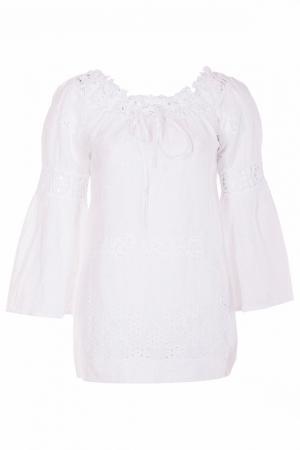 Блуза TEMPTATION. Цвет: белый