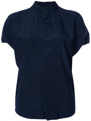 Рубашка Mare Zero + Maria Cornejo. Цвет: синий