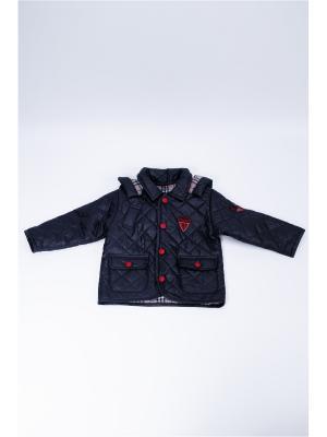 Куртка стеганная для мальчика La Pastel. Цвет: синий, красный