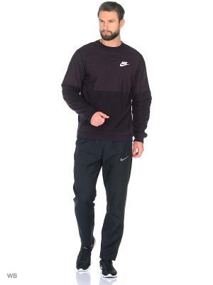 Лонгслив M NSW CRW FLC WINTER Nike. Цвет: фиолетовый