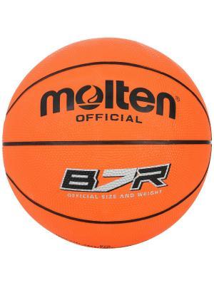 Мяч Molten. Цвет: оранжевый