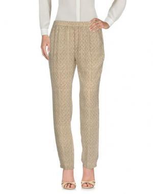Повседневные брюки DIEGA. Цвет: светло-коричневый