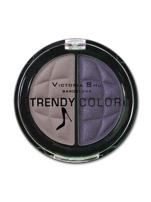 Тени для век TRENDY COLOR, 434 Victoria Shu. Цвет: фиолетовый